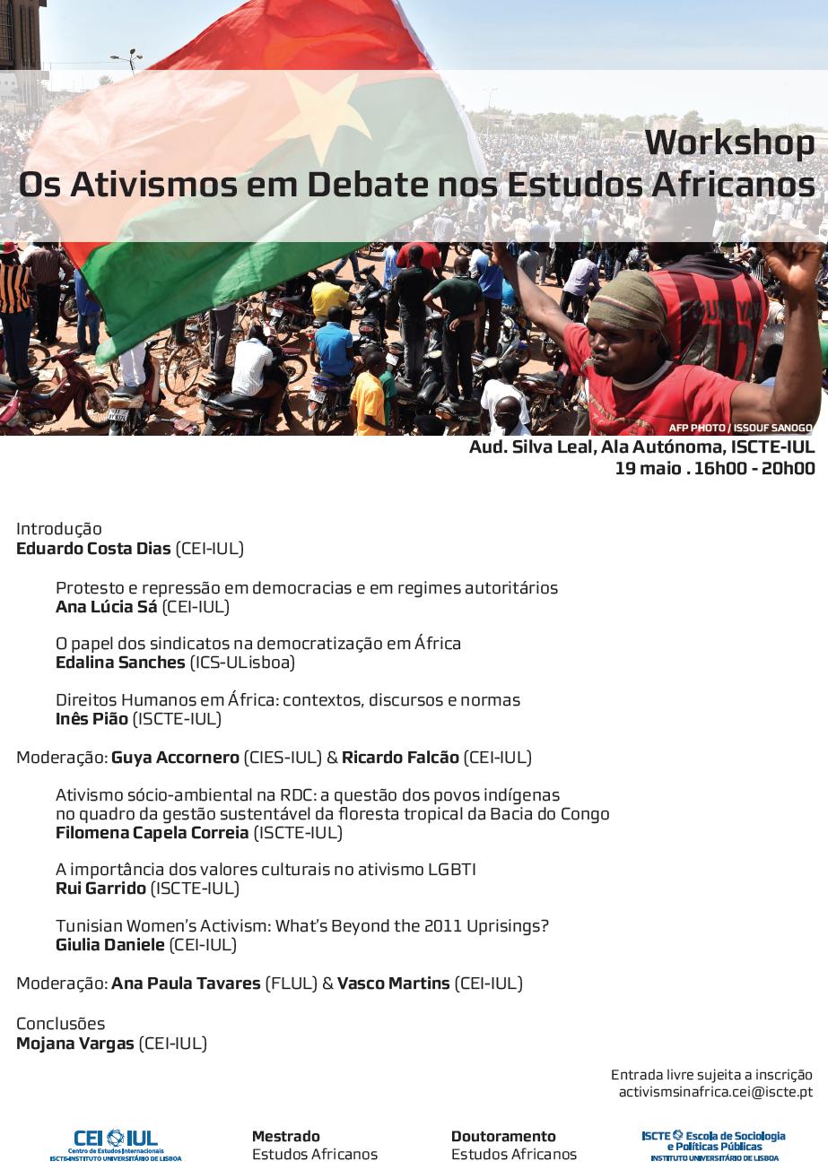 Os Estudos Africanos em Debate